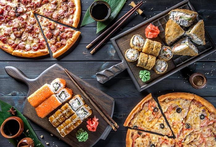 Японские суши во Львове