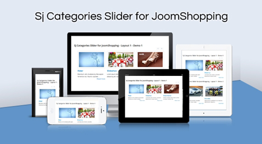 SJ Categories Slider for JoomShopping