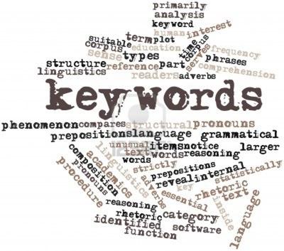 Правильно подобранные ключевые слова - ключ к высоким позициям