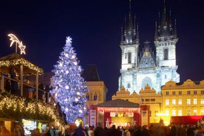 Новый год в Праге. Сказка для детей и взрослых