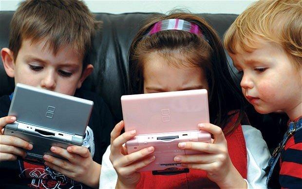 Воздействие электроники на детей