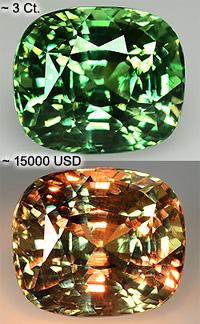 Александрит – природный драгоценный камень