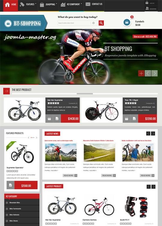 Шаблоны интернет-магазинов joomla master | шаблоны joomla 2. 5.