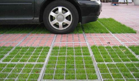 Устройство экологически чистых парковок