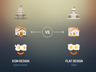 Что такое flat - дизайн?
