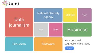 Lumi.do способен найти интересный контент по истории браузера