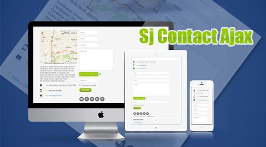SJ Contact Ajax