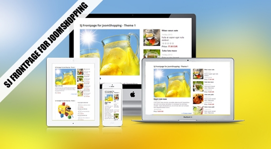 SJ Frontpage for JoomShopping