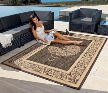 Особенности ковров из вискозы и шелка