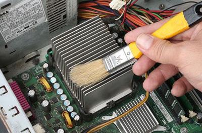 Очистка компьютера от пыли