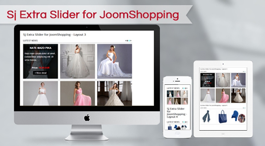 SJ Extra Slider for JoomShopping