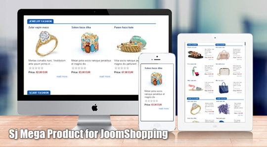 SJ Mega Product for JoomShopping