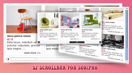 SJ Scrollbar for SobiPro