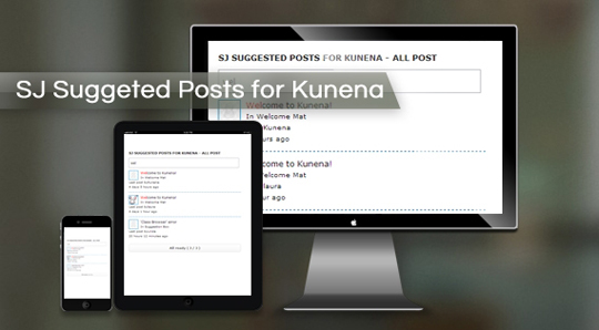 SJ Suggested Posts for Kunena