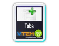 VTEM Tabs