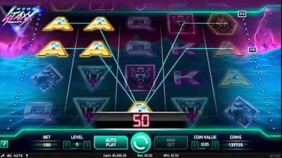 Neon Staxx - новый игровой автомат