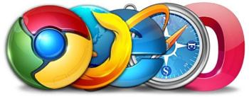 Все браузеры по прямым ссылкам