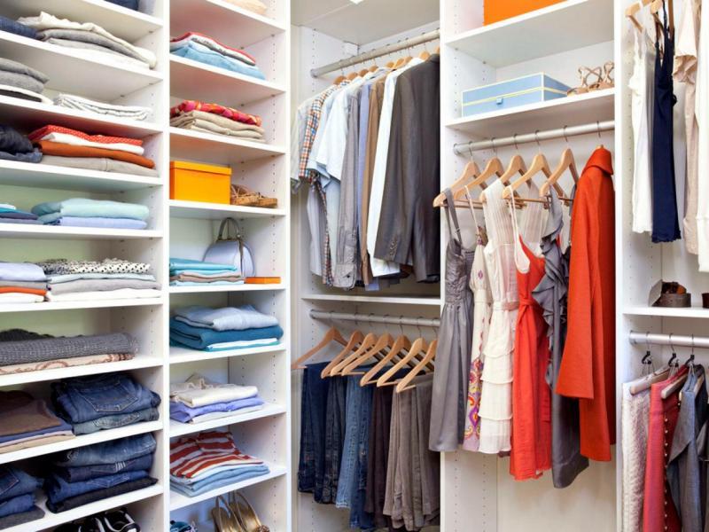 Как быстро навести порядок в гардеробе