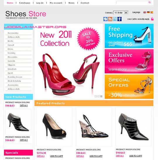 всех известных как открыть интернет магазин для обуви существует
