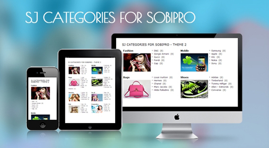 SJ Categories for SobiPro