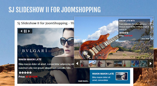 SJ Slideshow II for JoomShopping