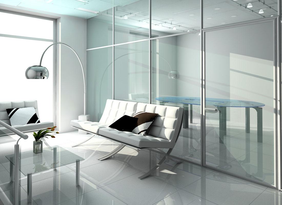 Завод по производству стеклянных перегородок