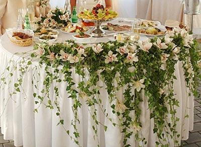 Свадебные цветочные композиции