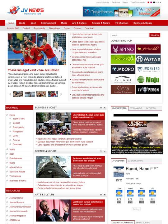 Шаблон - JV News II
