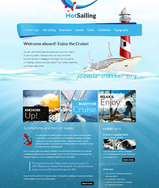 HOT Sailing
