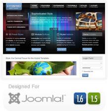 RT Hybrid - Joomla 1.6 Template