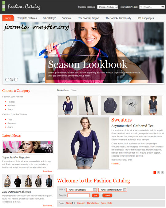 JM Fashion Catalog